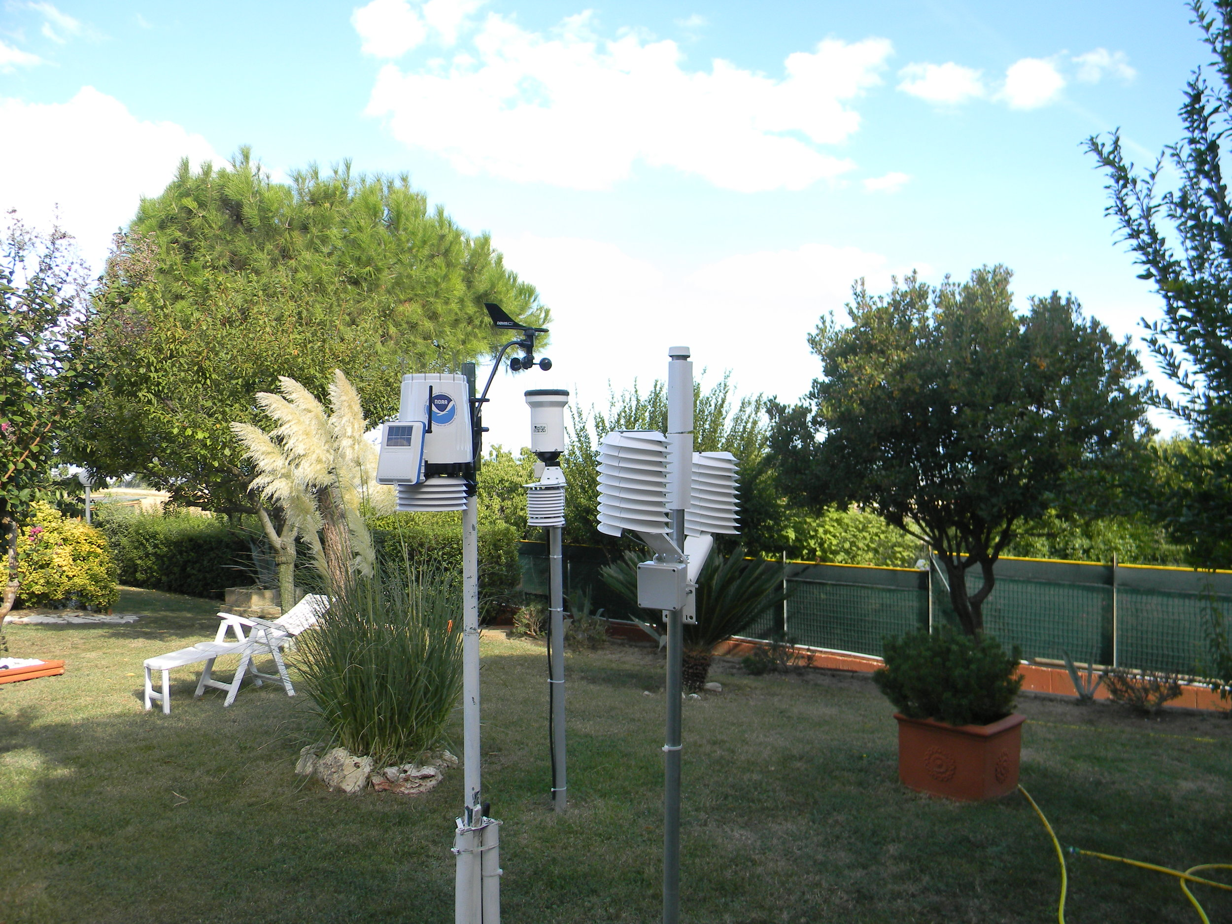 CUSTOMER Comparison testing of Davis GSM weather station vs MeteoHelix IoT Pro SiGFOX weather station