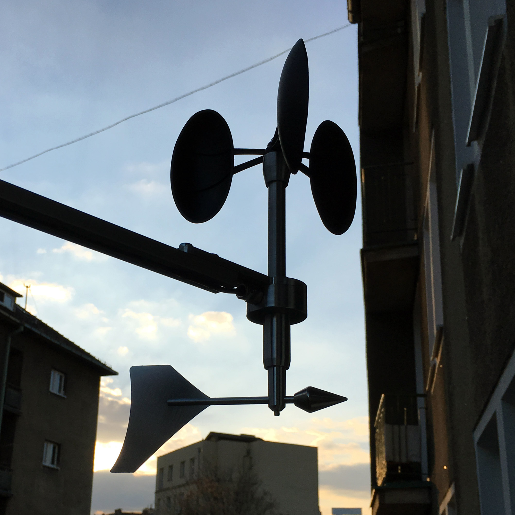 MeteoWind Compact anemometer