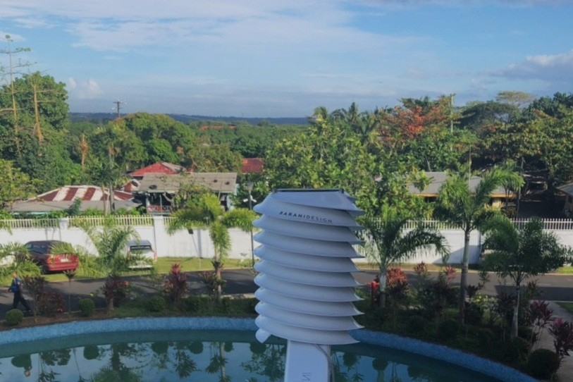 MeteoHelix is the first IoT weather station on LoRaWAN in Samoa, South Pacific.