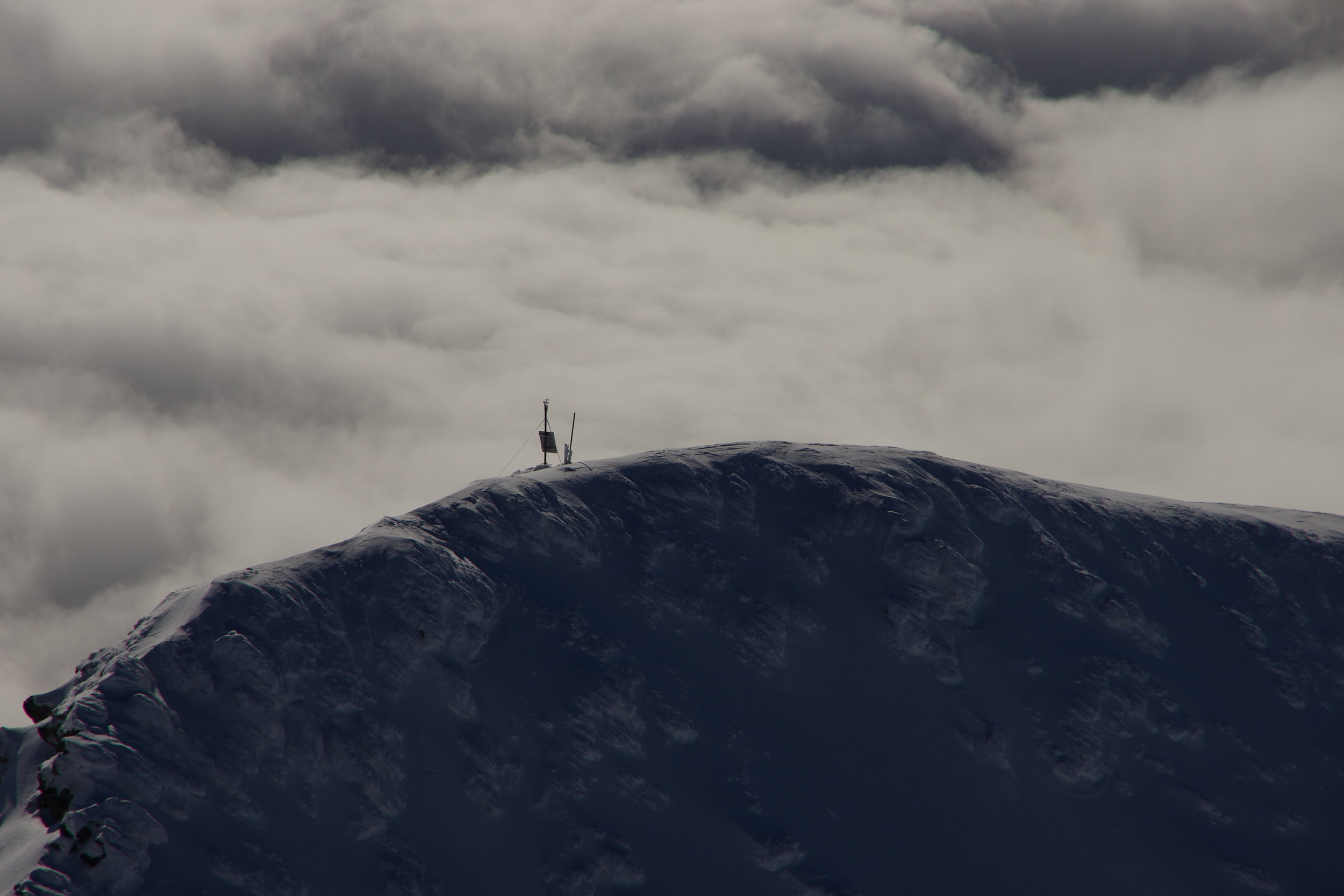 BARANI DESIGN Technologies AWOS weather station at 2000 meters in High Tatra mountains.