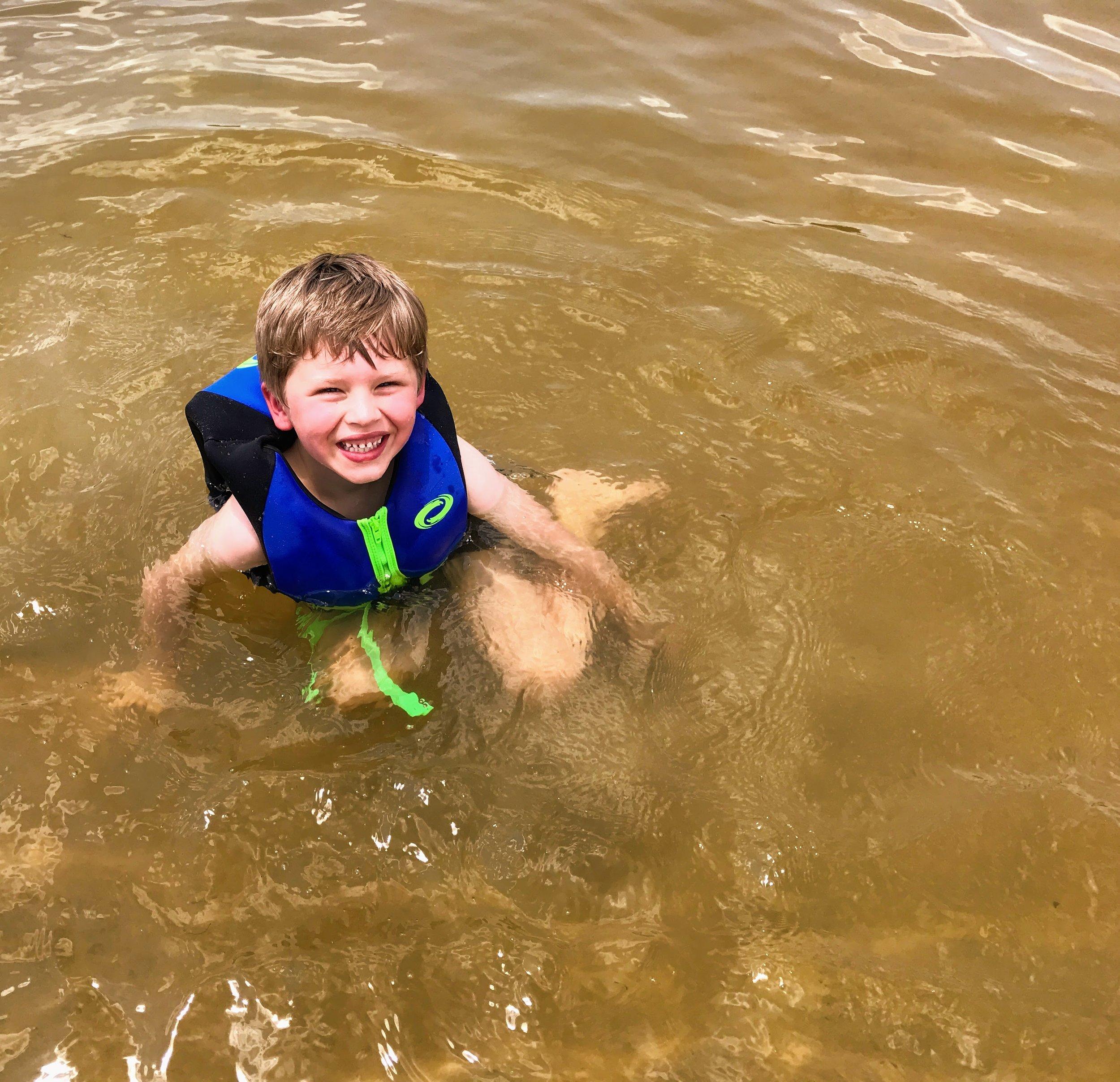 Floating around at Lake Lurleen