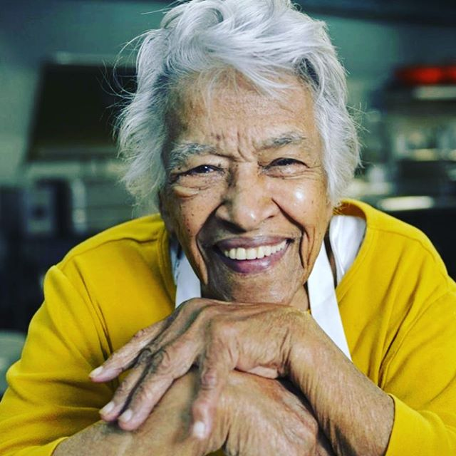 Heartbroken. But so thankful I got to hear her voice, see her face, and eat her food this past November. A force, a light, a leader reminding us the world can change for the better when we come together to share a meal. Thank you, Mrs. Chase.