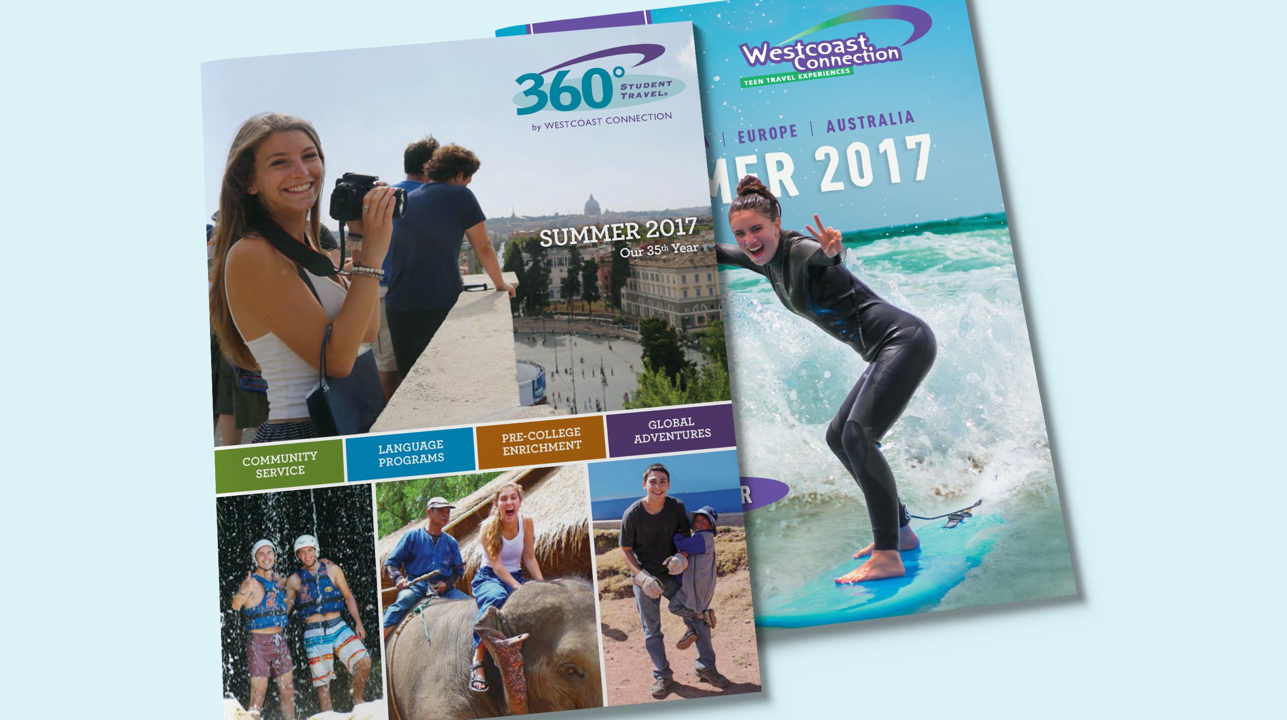 360 Student Travel Brochure, Teen Tours Brochure