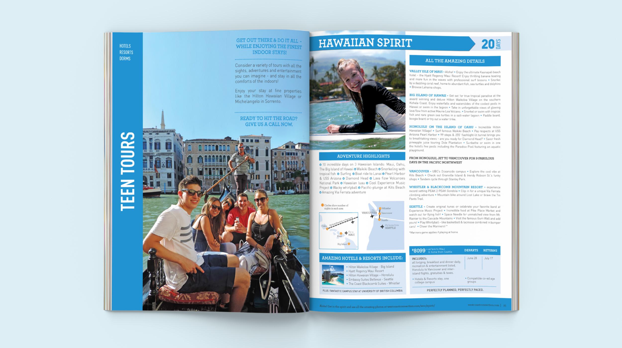 Teen Tours Brochure