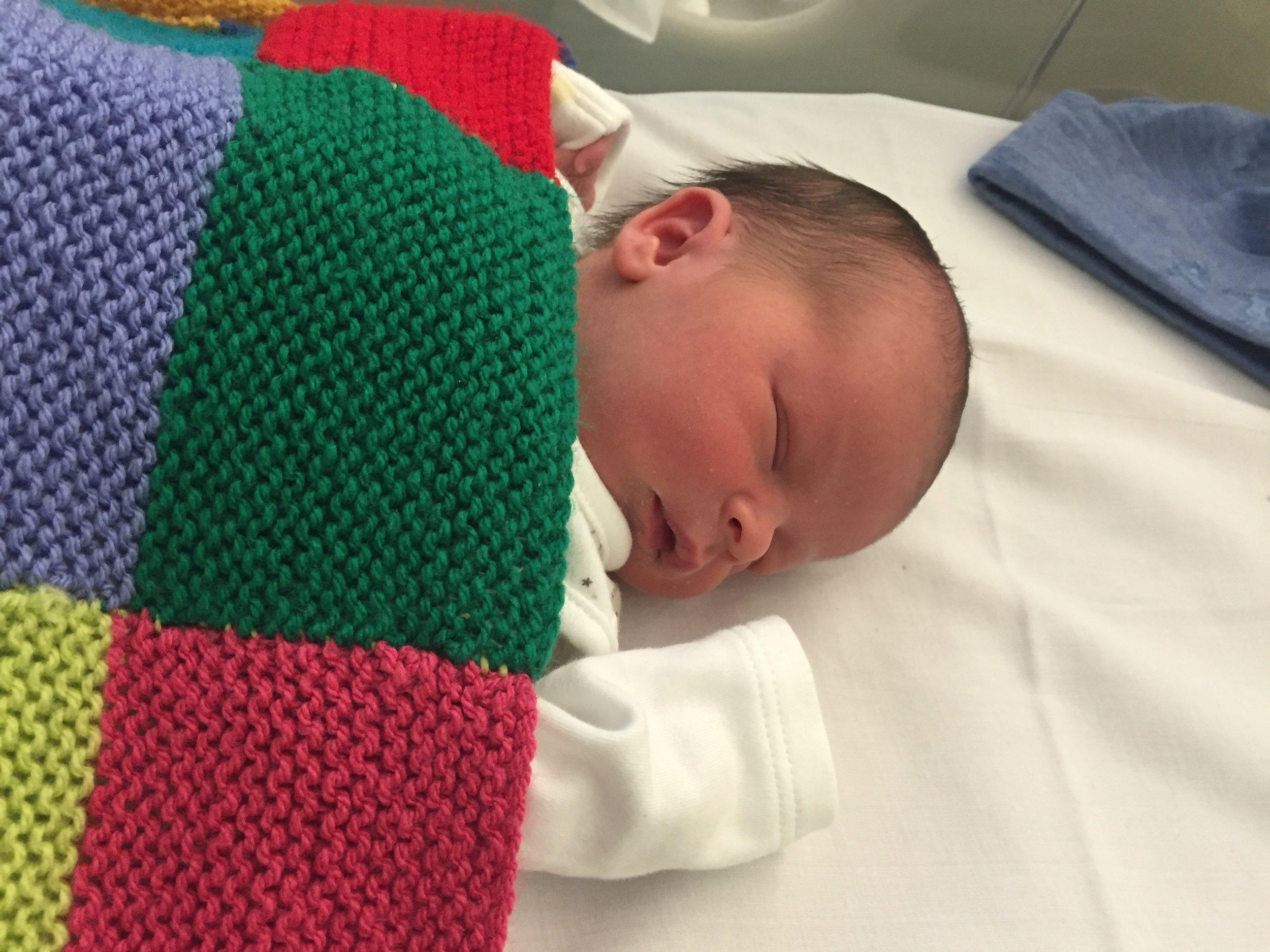 Warning: Do not be mislead by newborn sleeping baby photo