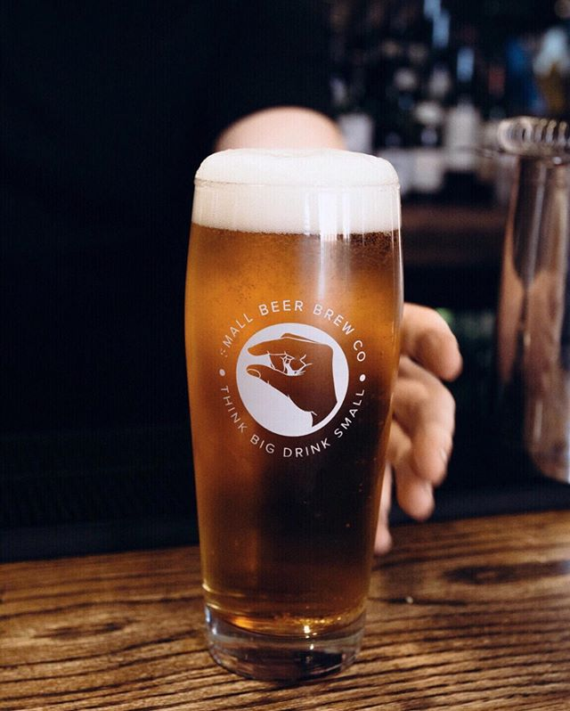 Today's your last chance to join us for a lunchtime pint at @theconductor.bar! The best part? Our world class beer delivers big flavours at a lower ABV, so it won't slow down the rest of your day at the office. Find us with the MiniBar 11am-5pm, just around the corner from St. Paul's.  #smallbeermoments #lunchtimepint