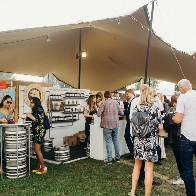 We can't believe @tasteoflondon is finally here! Last year was an absolute dream, and we're doing it even bigger this year. See you soon! 🍻 #tasteoflondon2019