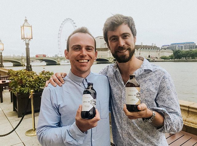 Our founders @smallbeerfelix and @grundy_james at the House of Commons last night! #smallbeermoments