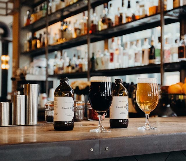 Cheers to the social-lunchers 👌 Discover your own #smallbeermoment through the Stockist page on our website. Just type in your post code to find our Original Small Beers near you. (Link in bio)