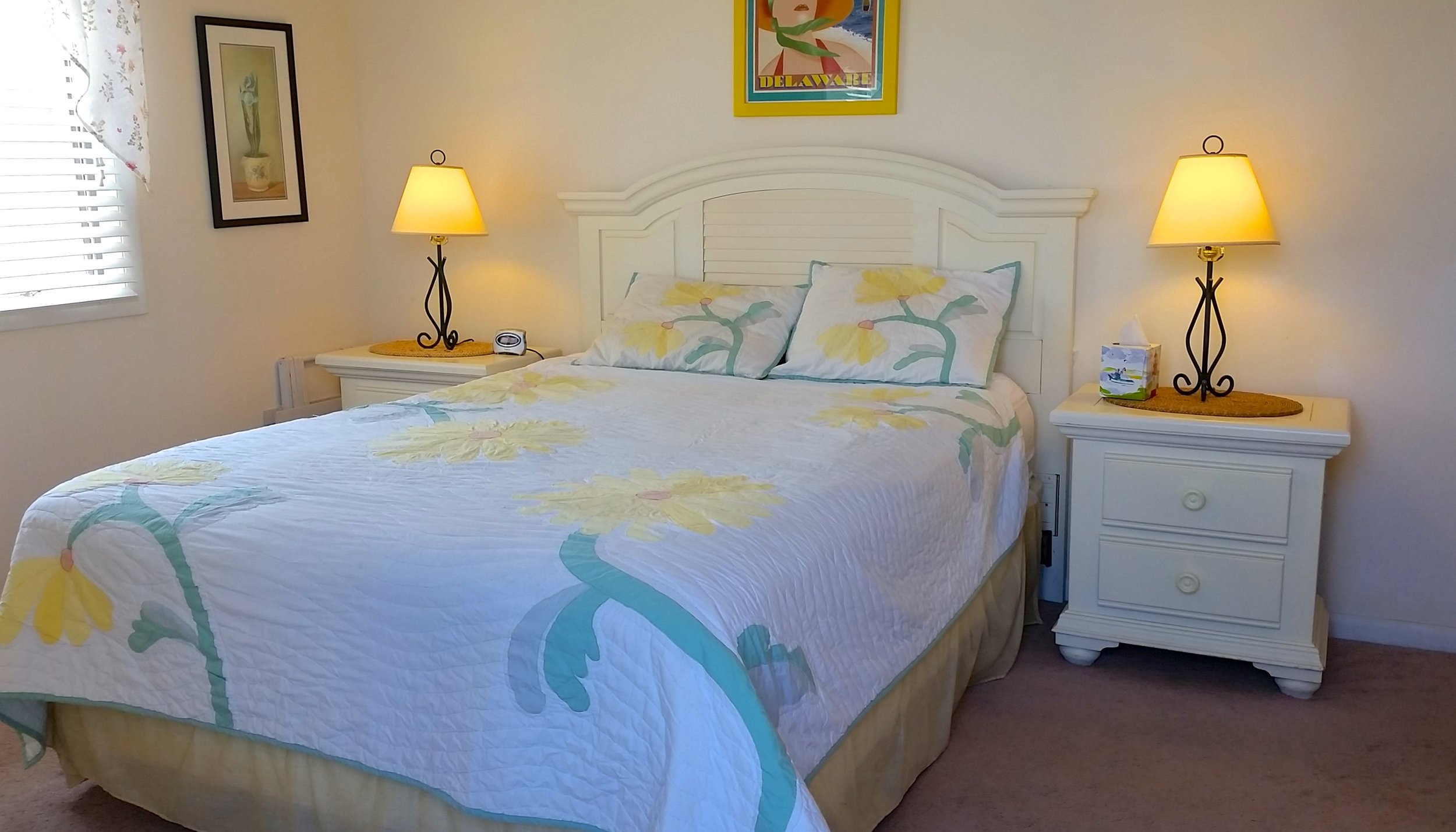 Master Bedroom with Queen Bed and Private Bathroom