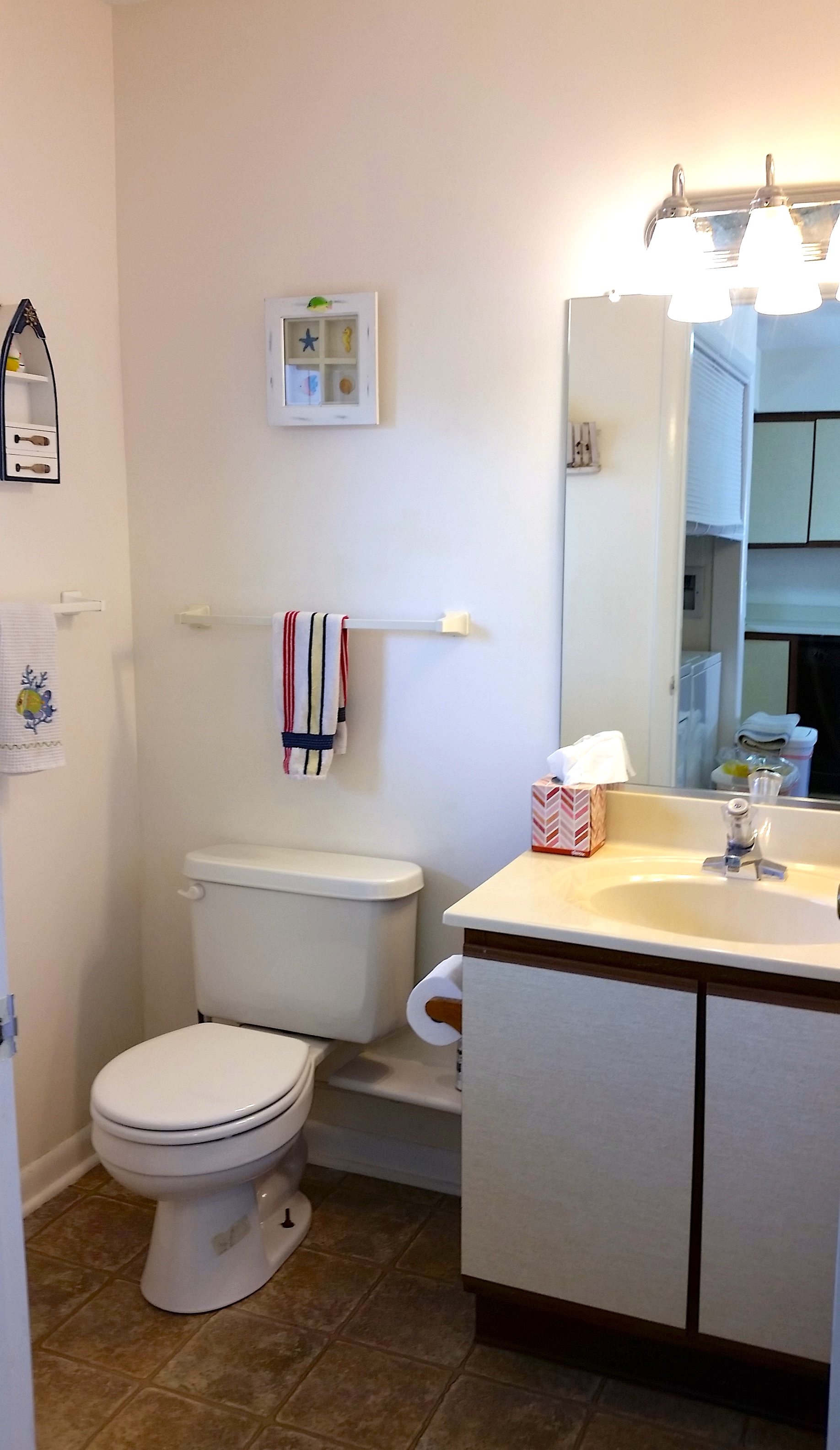 One of the 2.5 Bathrooms