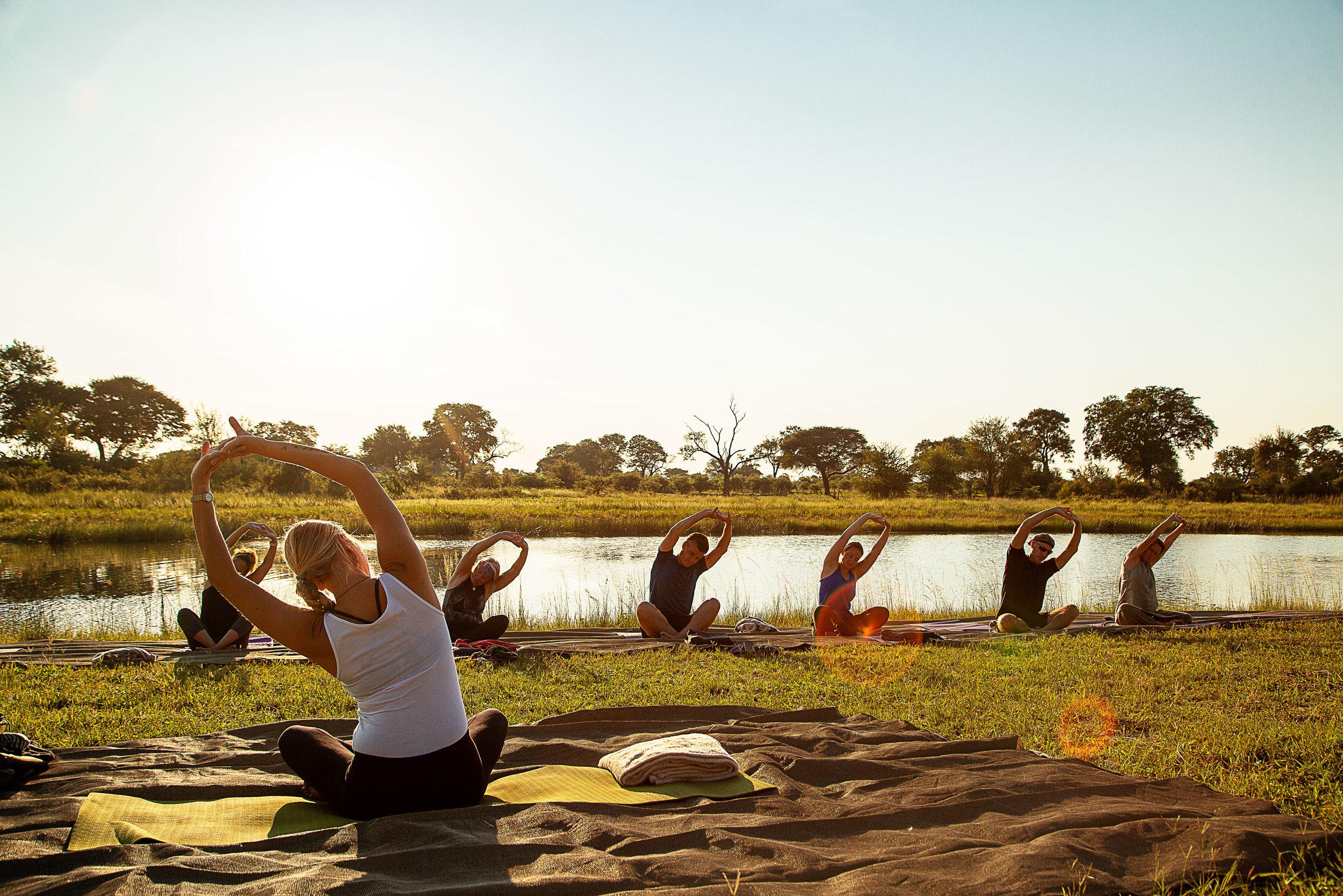 yoga retreat africa namaste yoga safari