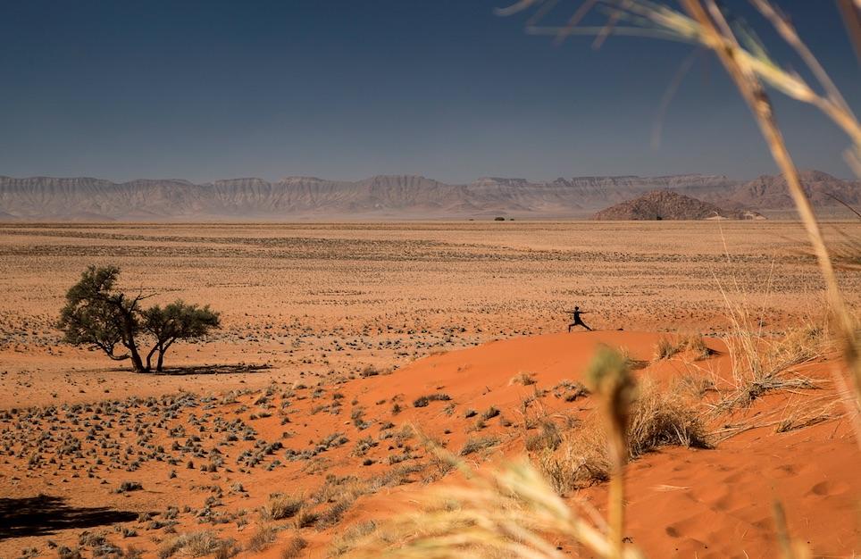 host a yoga retreat in Namibia with Namaste Yoga Safari