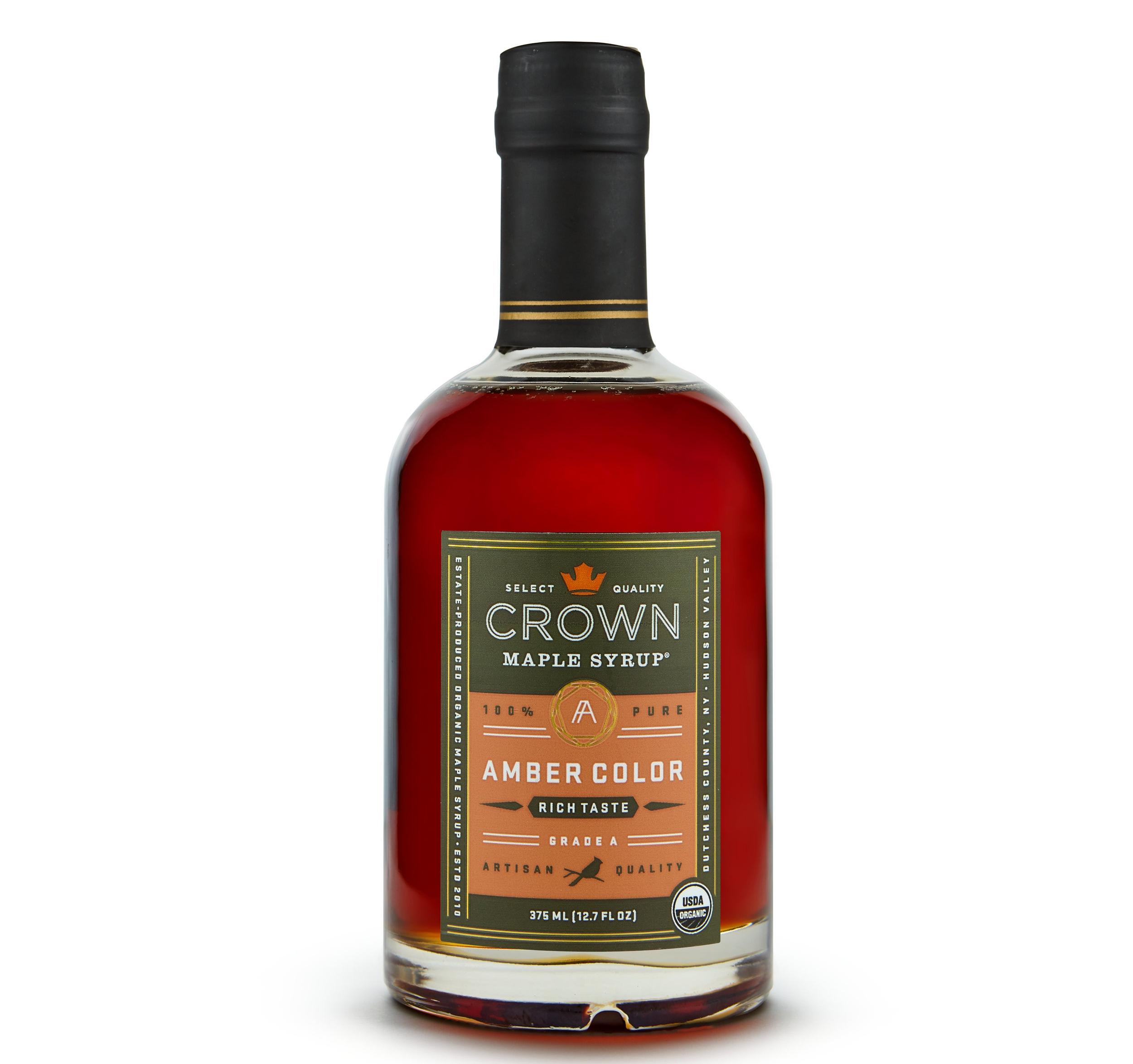 Organic Amber Maple Syrup - 375 mls   £19.99