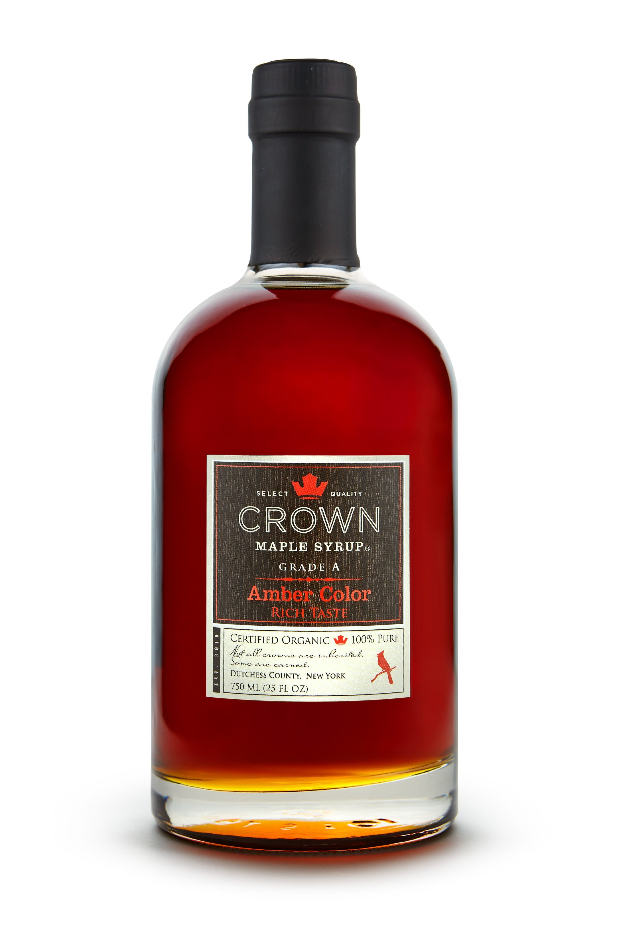 Organic Amber Maple Syrup - 750 mls   £29.99