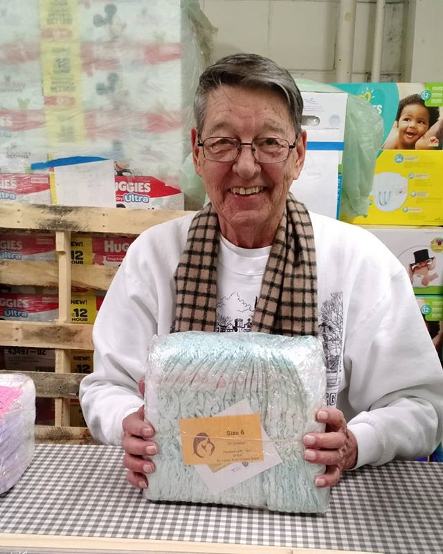 Looking to get some service hours or just want to do some good this year? Volunteer at the Diaper Bank! If you volunteer on Wednesdays, you'll get to hangout with Jessica's Grandpa!  http://www.stldiaperbank.org/volunteer-time  #hesprettycool #diaperon #changingdiapers #changinglives #volunteer #stlregion