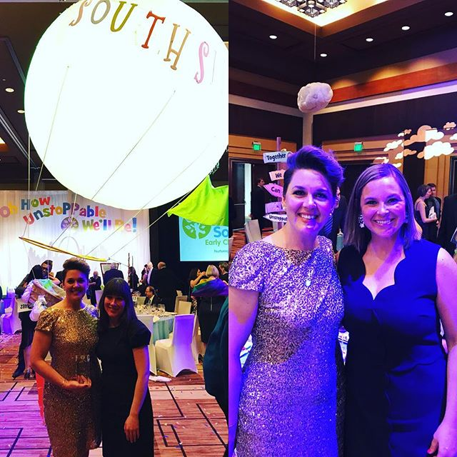 The Diaper Bank was so proud to be honored as a Champion for Children at the annual gala for @southsideecc !! SouthSide is doing such amazing work stabilizing and strengthening their families  and we couldn't be happier to be part of that work. #diaperon