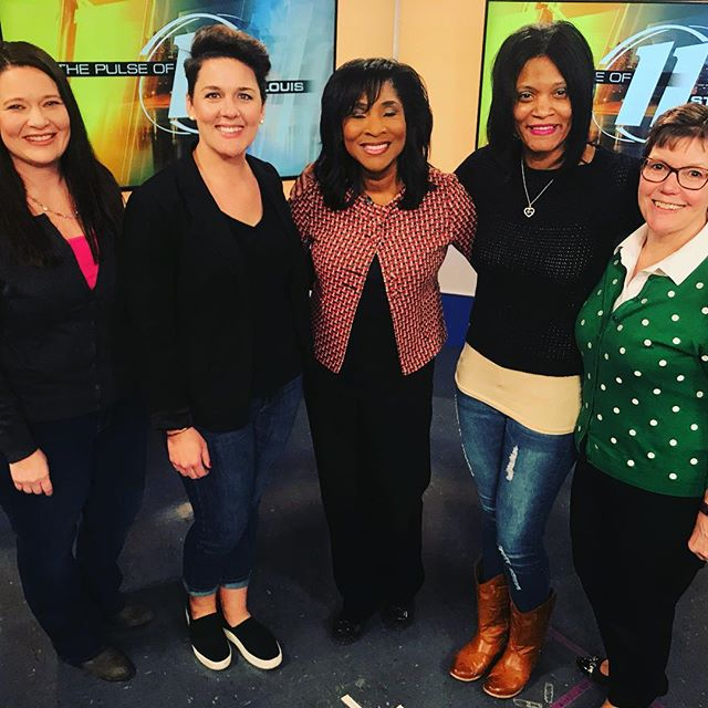 What an exciting day! Taped today for The Pulse with Shirley Washington at Fox 2 studios! Tune in for the show this Saturday, March 10 at 7pm on @kplr11