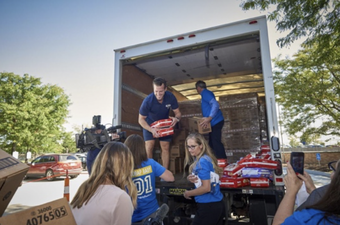 Diapers from hospital, Huggies and anonymous donor help needy St. Louis families - St. Louis Post-Dispatch, September 6, 2018