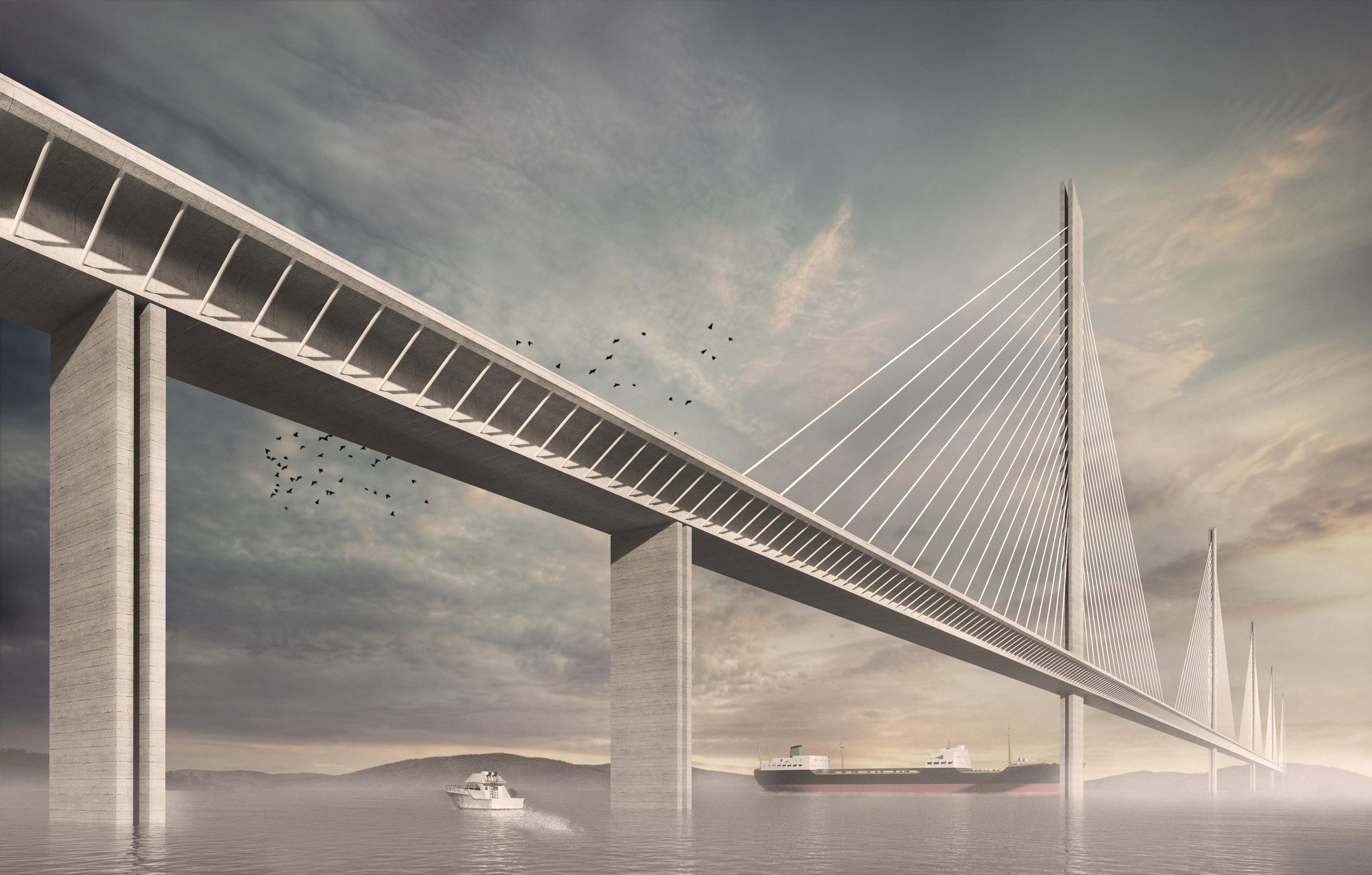 Long Island Sound Bridge Concept