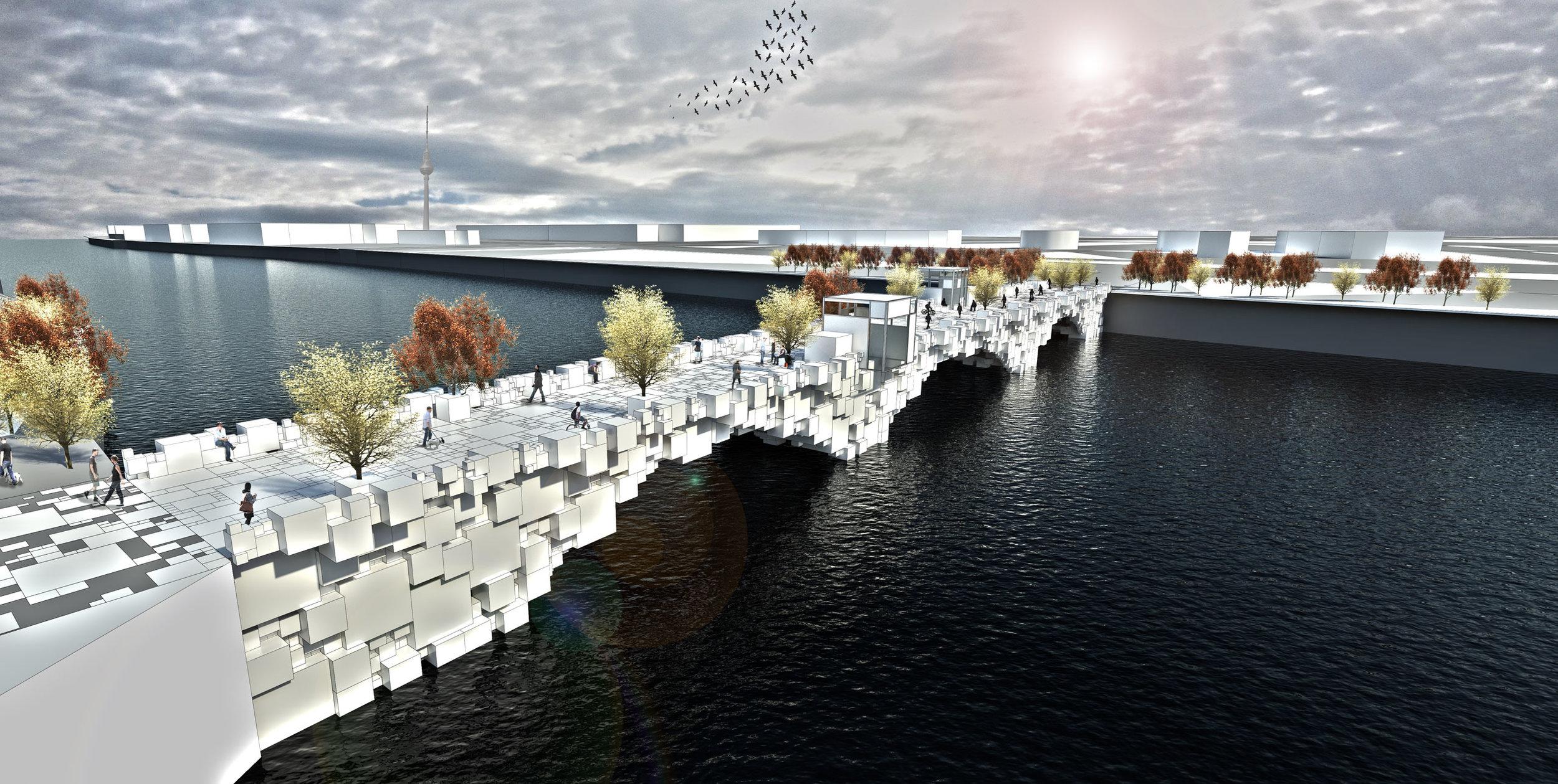 ArchTriumph - Berlin Pedestrian Bridge Competition