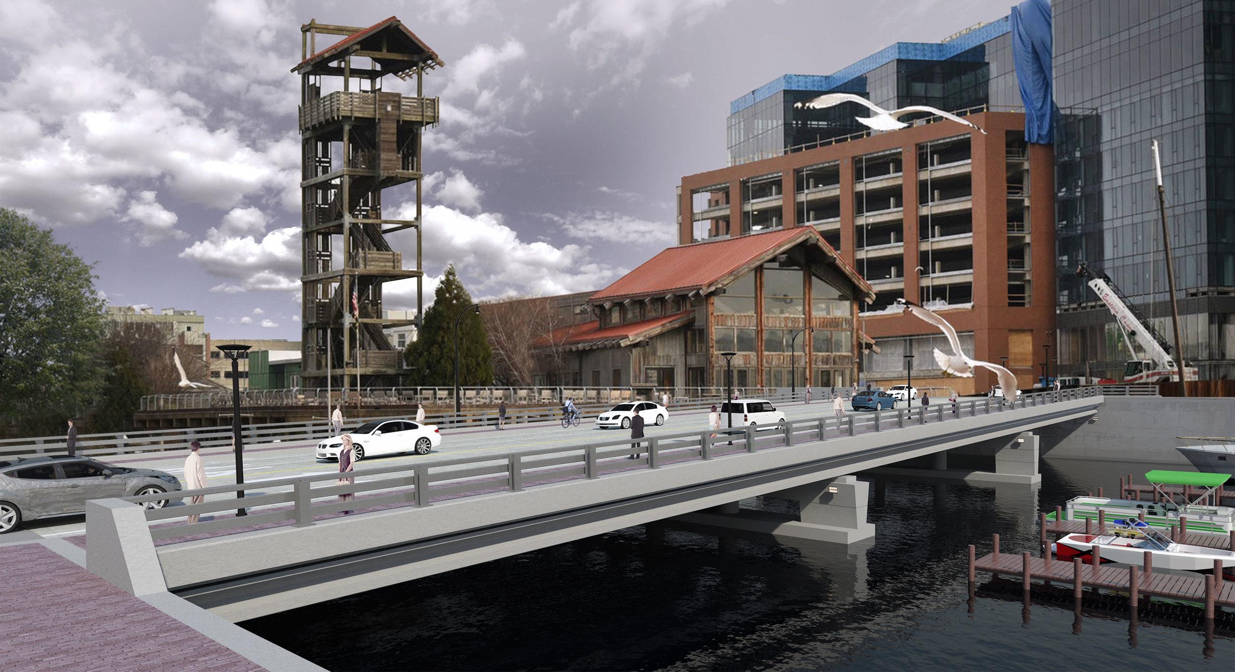 Harbor Point Connector Bridge