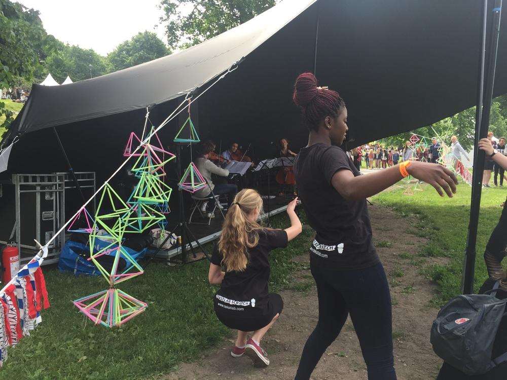 Kulturfest Tøyen: dans og improvisasjon med Kvartettserien