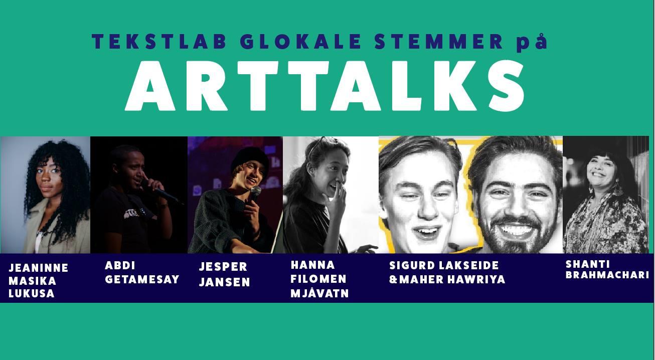 20.00: TekstLab Glokale stemmer på Arttalks Cafeteatret / NBT
