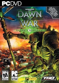 DoW, Winter Assault, DoWII, Chaos Rising...could I find my copy of Dark Crusade's Tau cover?...of course not.