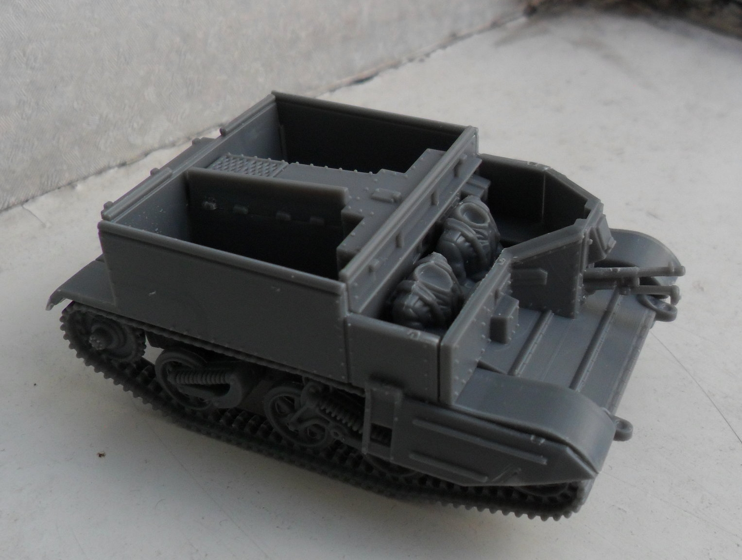 A Universal Carrier, minus all the gubbinz just waiting to be piled on.