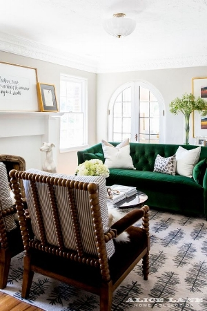 Statement pieces (photo Alice Lane Home Collection)