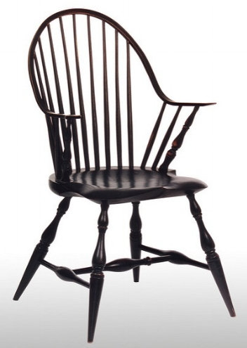 Chairs with arms make it easier to sit down and stand up.