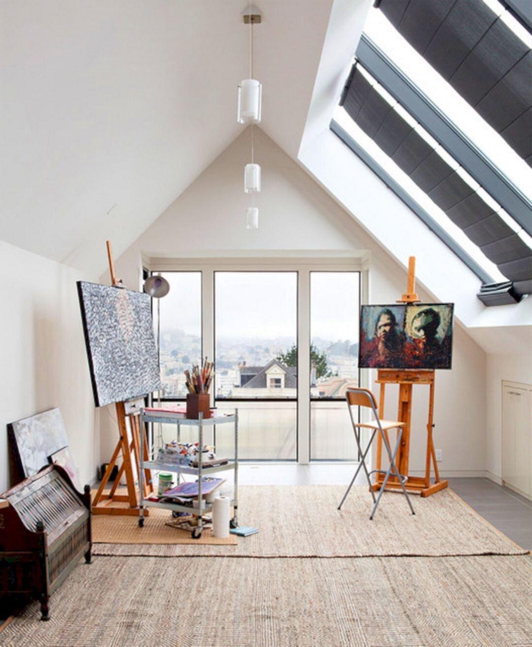 Empty nest art studio