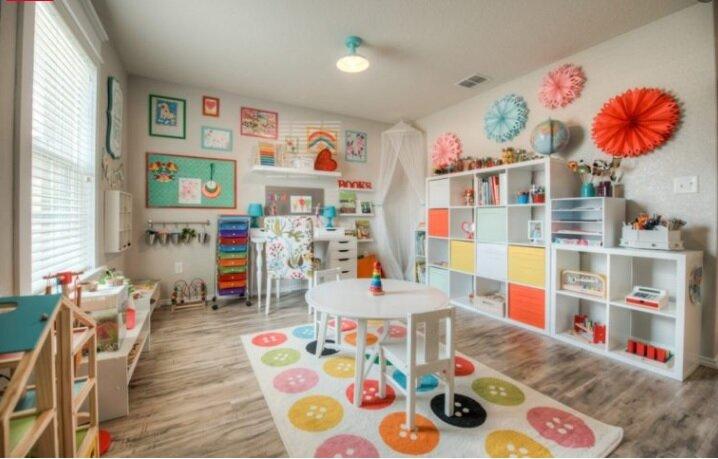 Empty Nest Playroom