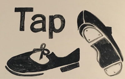 Tap Shoes Art