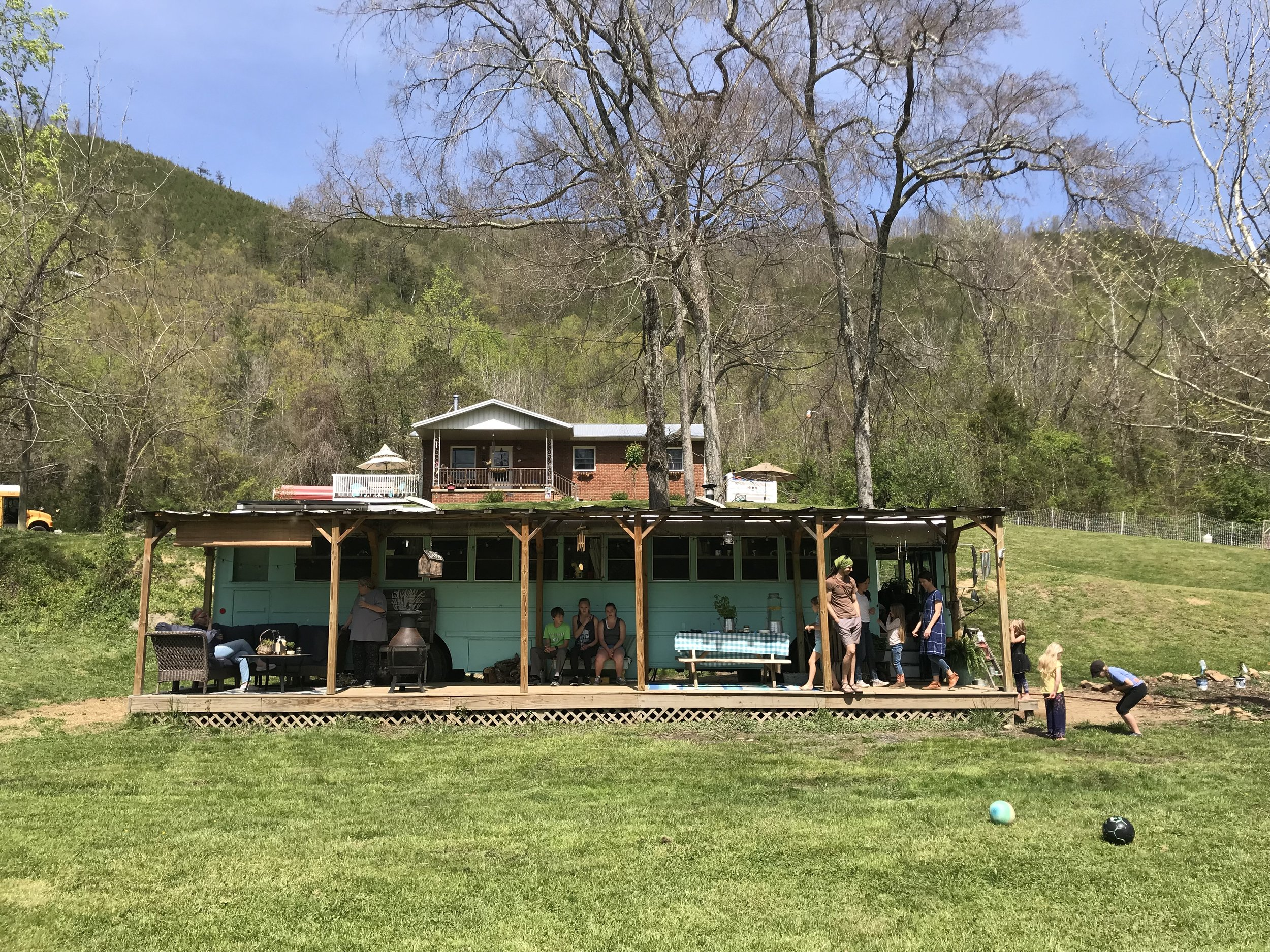 We visited Blue Ridge Conversions in Hot Springs, NC!