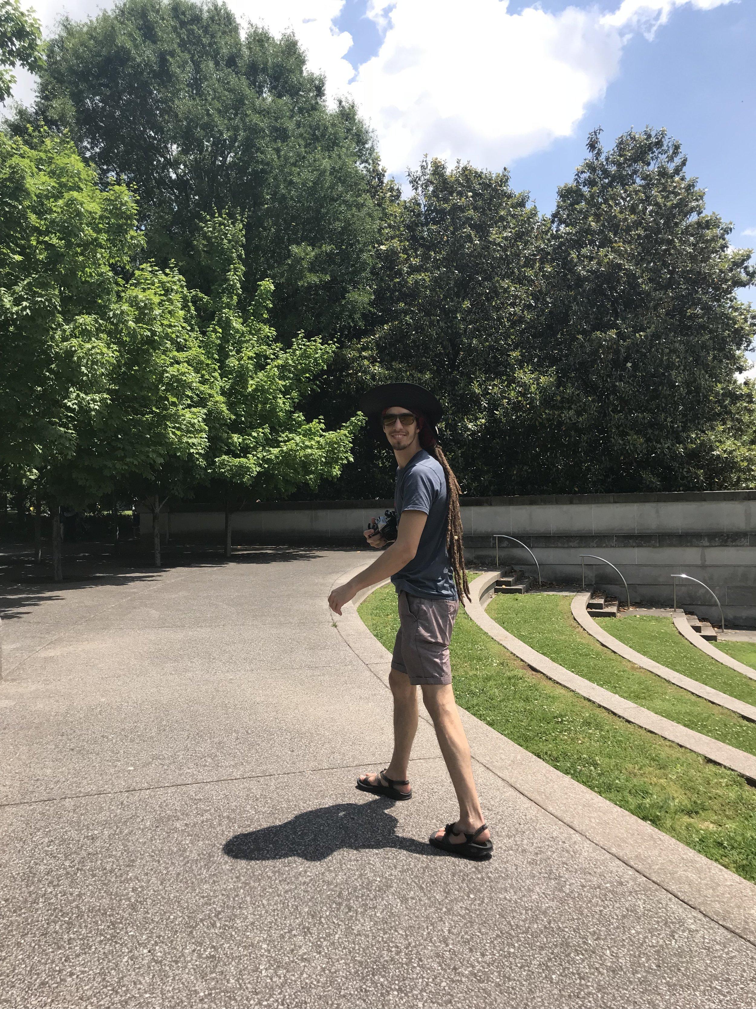We went to Nashville.