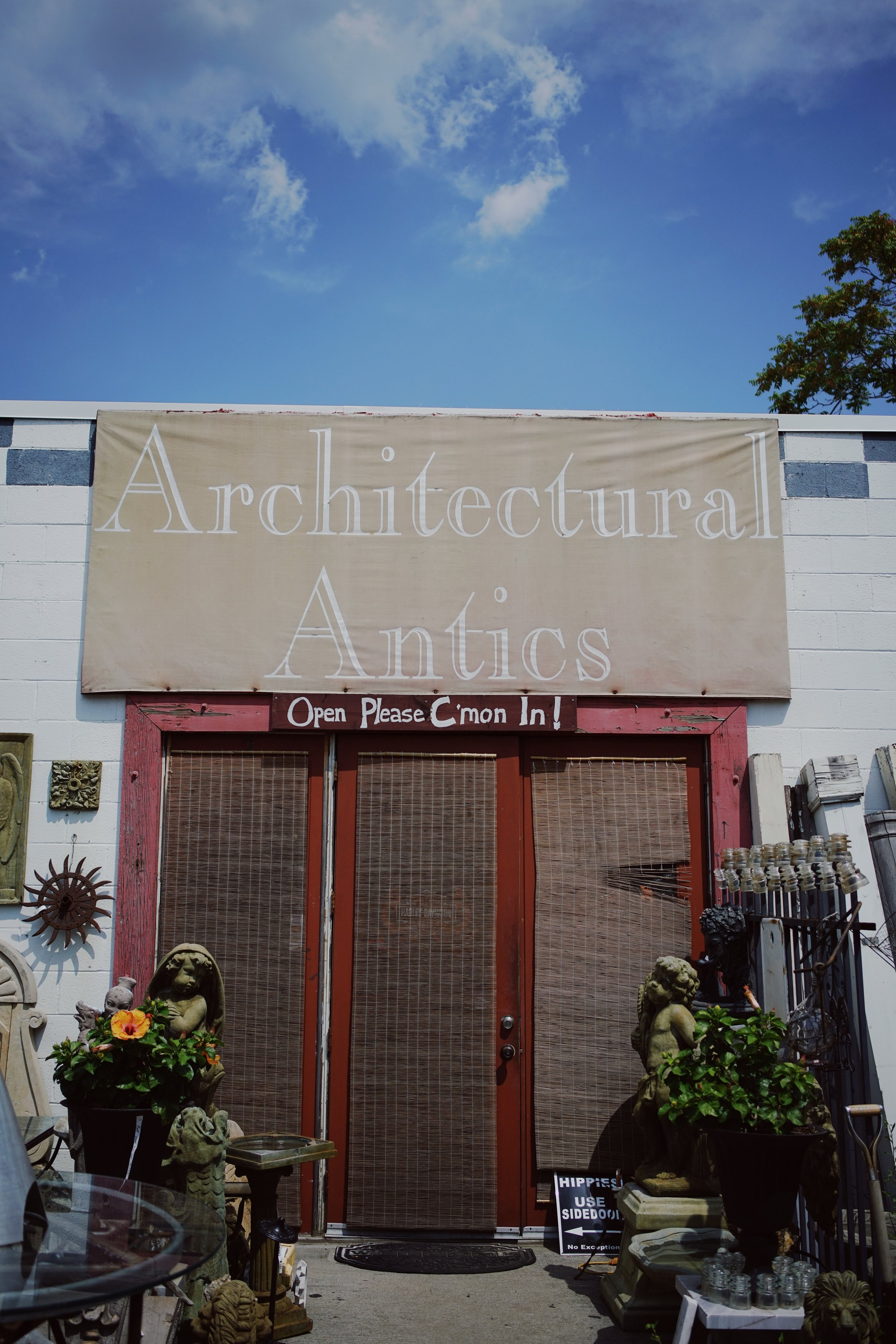 Architectural Antics is one of our favorite local destinations.