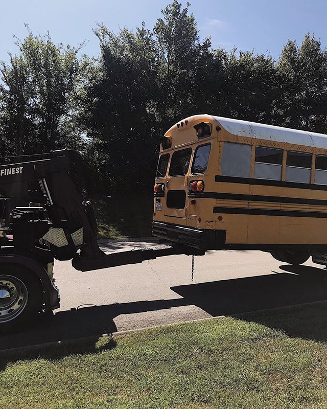 "Skoolie lesson learned: Do more than research when choosing a roadside assistance membership for your bus. Call, make a test service call, be SUPER CLEAR that your ""custom RV"" has tires the size of a semi (or larger), and just consider looking into Good Sam, who reliably works with skoolies without a second thought. 👏🏼 #schoolbusconversion #skoolie #tinyhouse #diyprojects #busconversion #buslifeadventure #buslifediaries #tinyhomeonwheels#tinyhomebuild #livingfreely #homeonwheels #rvrenovation #tinyliving #selfbuildcamper #homeiswhereyouparkit #motorhomelife #skoolieconversion #getoutstayout #takemoreadventures #outdoorliving #happyadventuring #weboughtabus #tinyhouseliving #adventuremobile #nomadiclife #livingsmall #offgridliving #campinglifestyle #welivetoexplore #busliving"