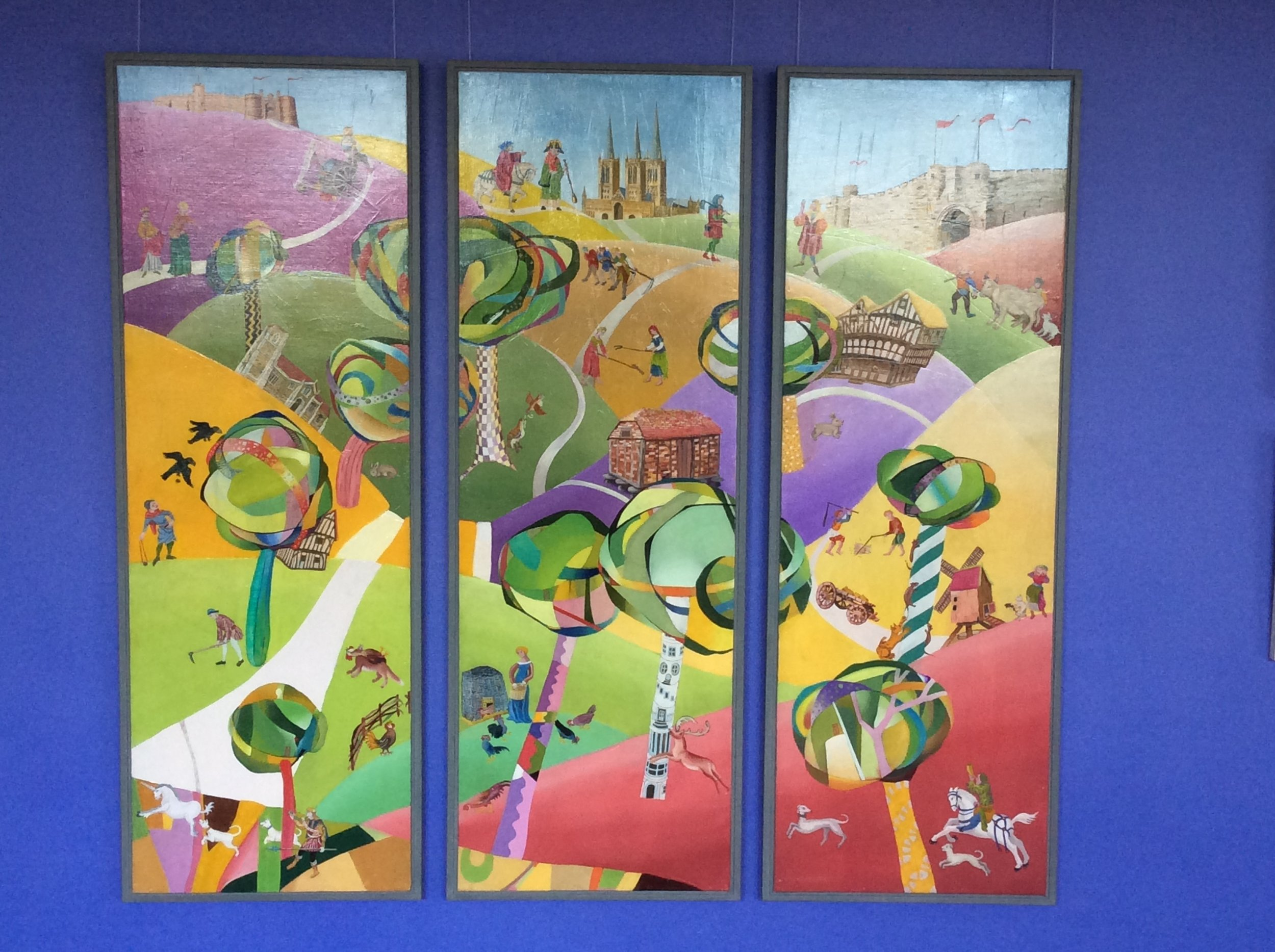 Fact and Fiction - Wolds Triptych