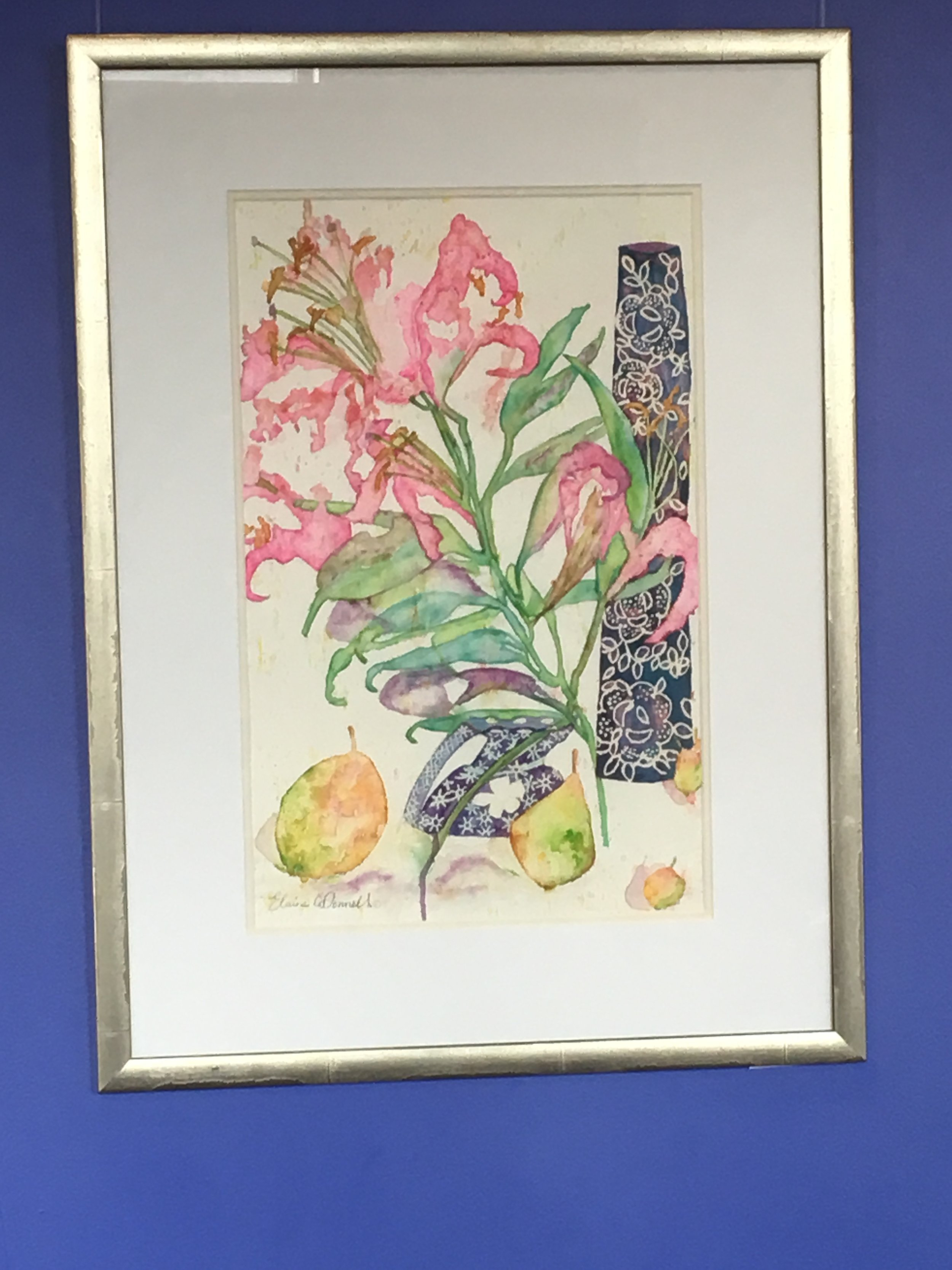 Pink Lily & Pears