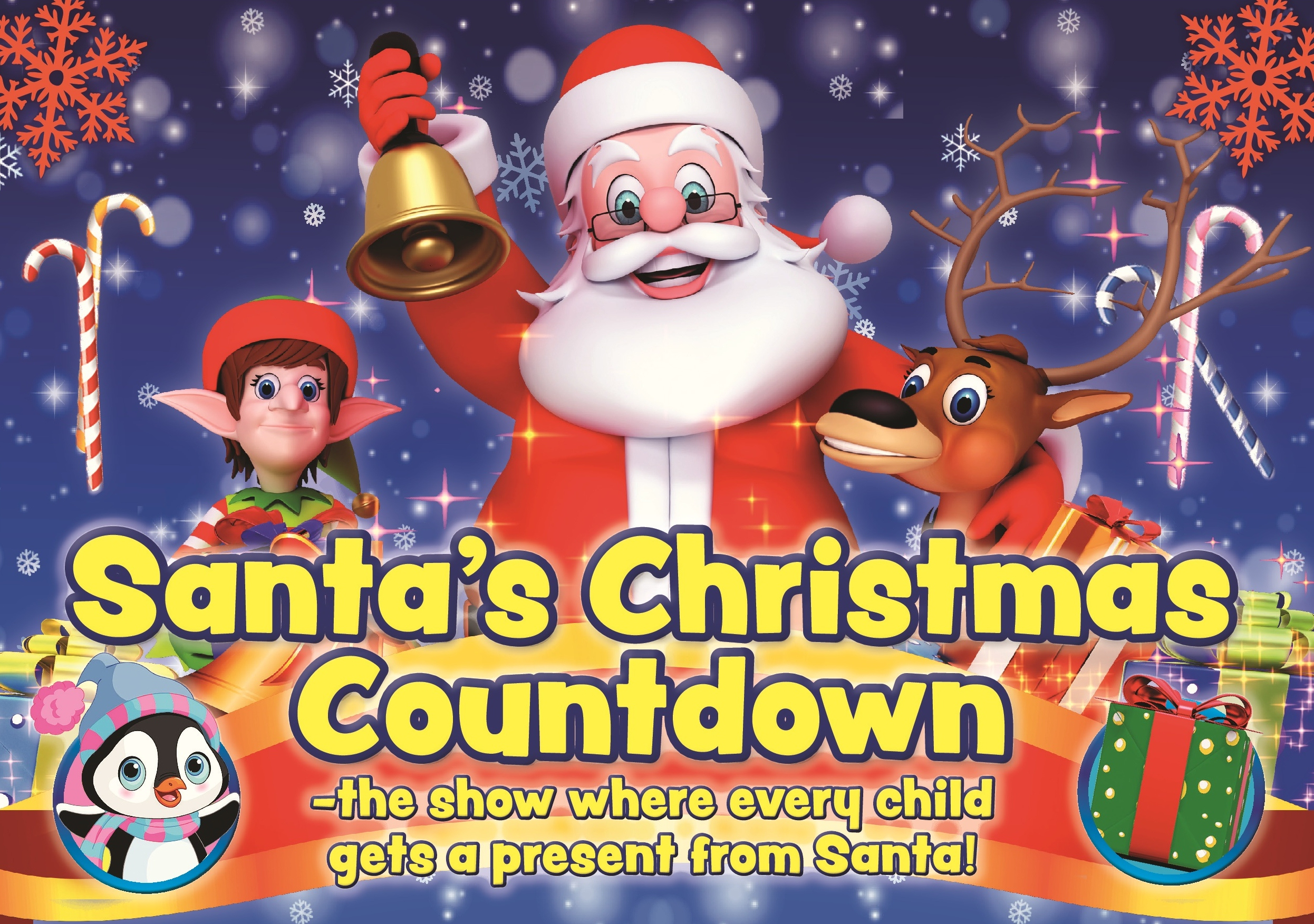 Santa's Christmas Countdown landscape A5.jpg