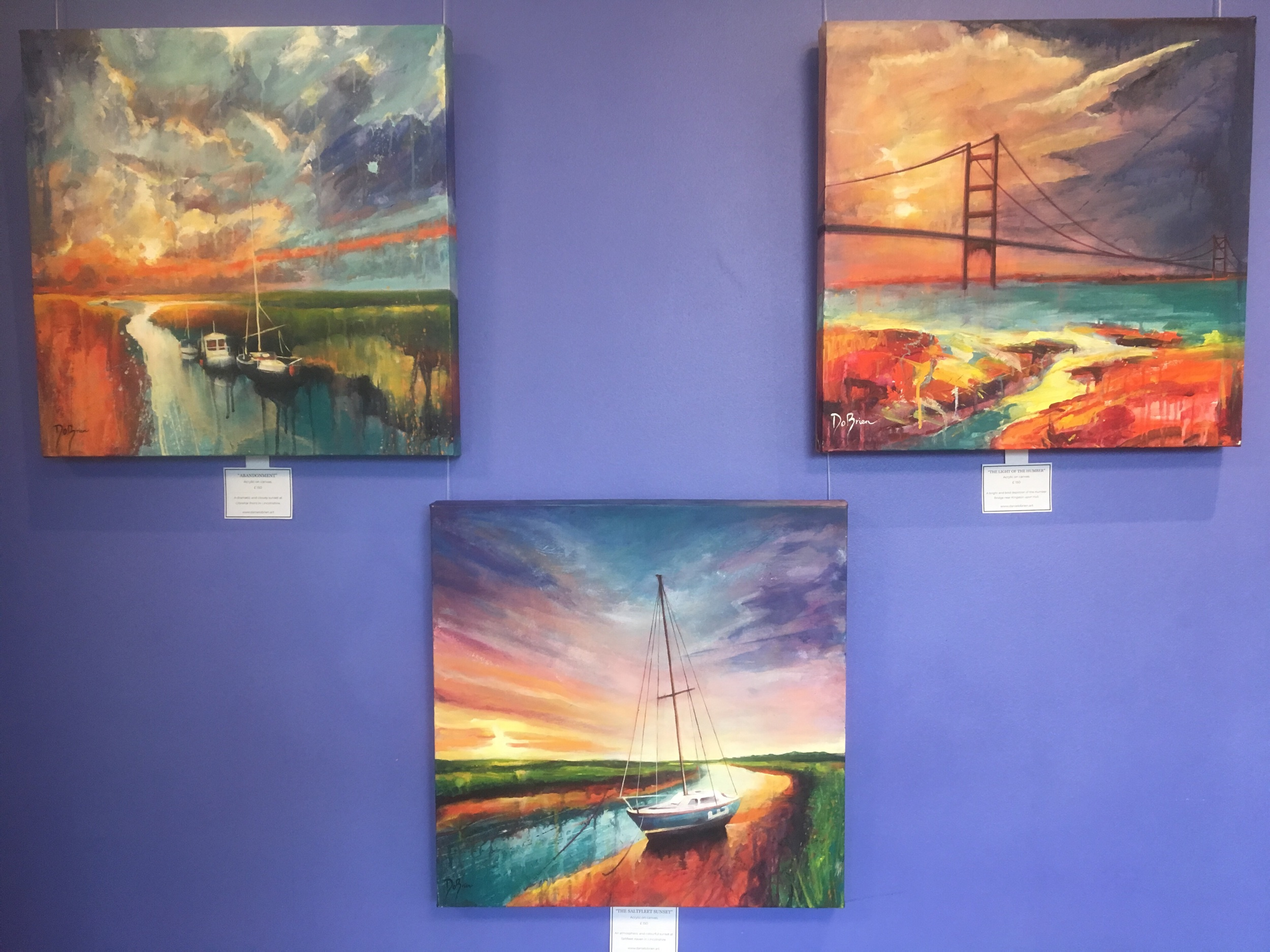 Three lincolnshire Coastal scenes