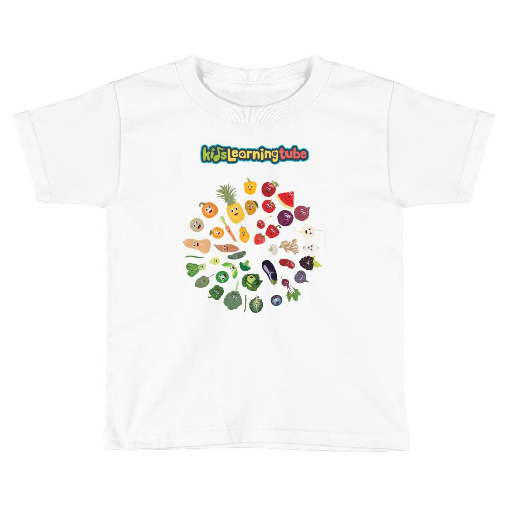 'Eat Your Rainbow' Toddler Short Sleeve T-Shirt  $18.00