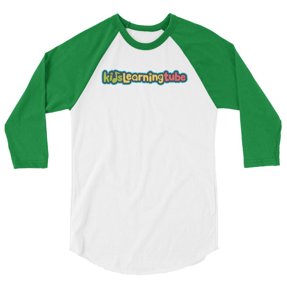 Kids Learning Tube Logo Adult Unisex Raglan T-Shirt  $30.00