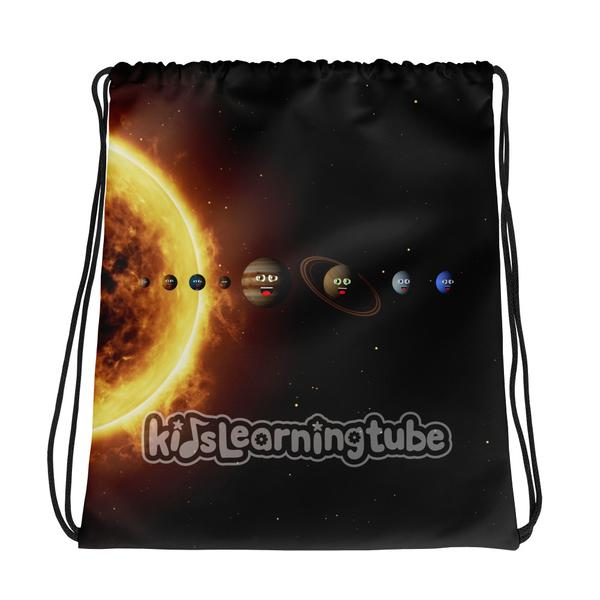 NEW!  Solar System Drawstring Bag  $22.00