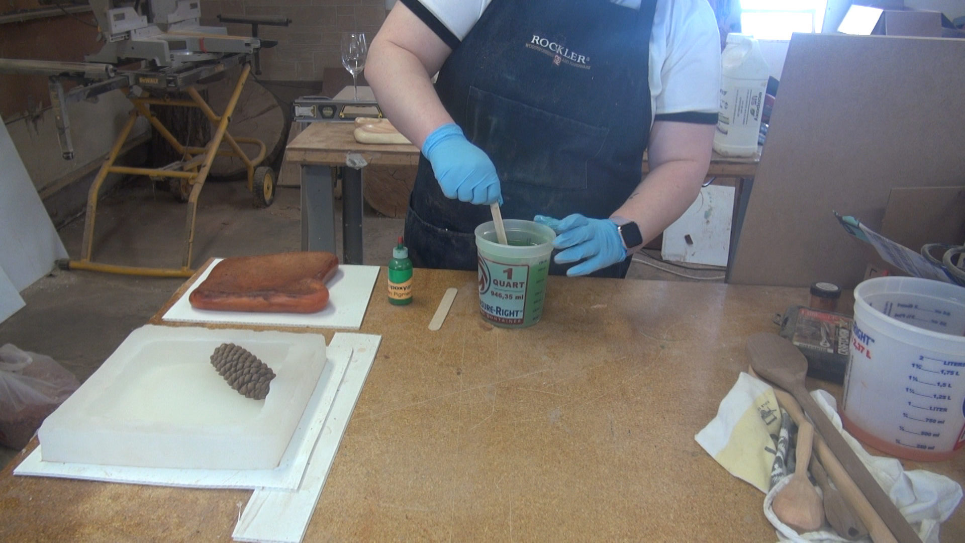 Replicating Custom Pieces with DIY Silicone Mold — Freeman