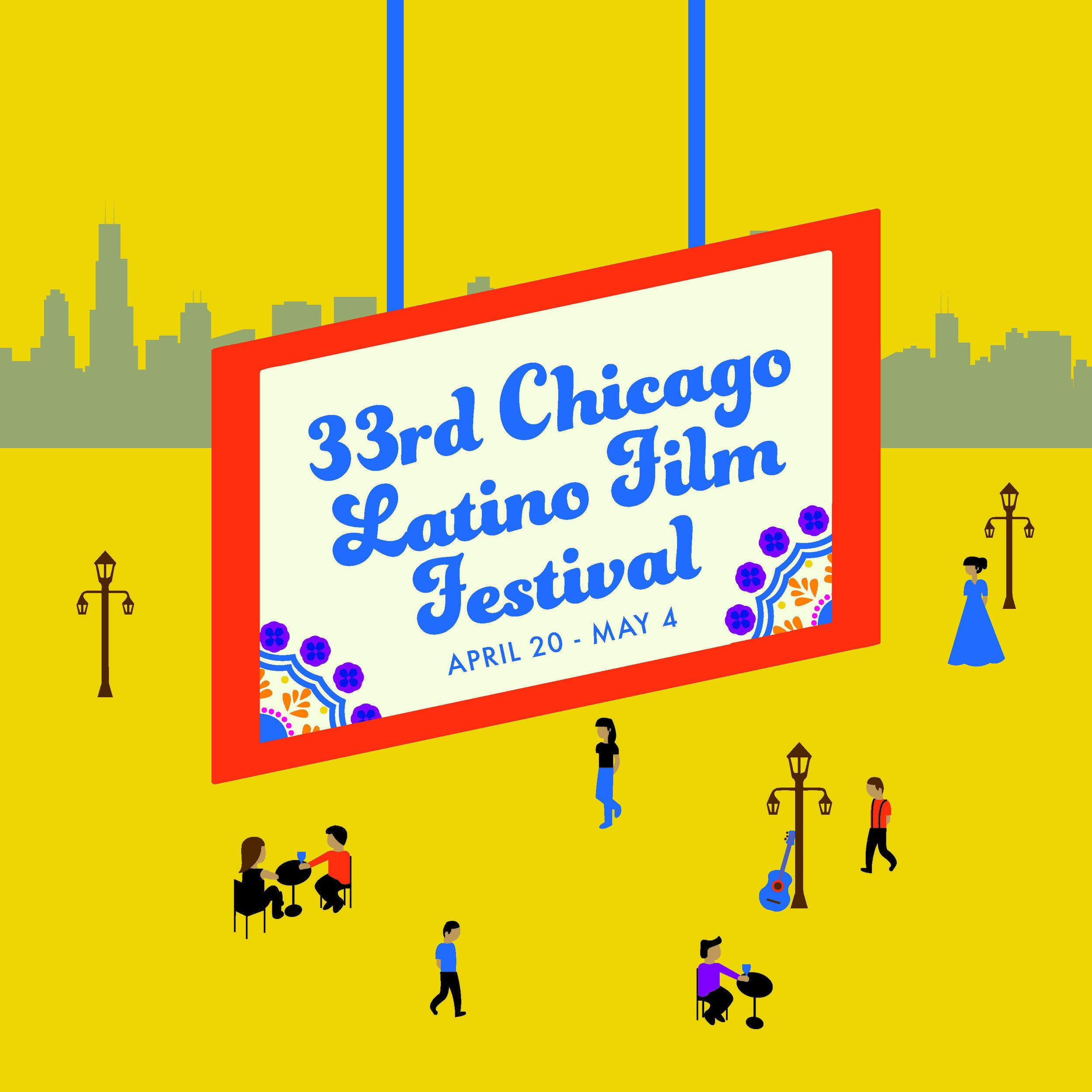 33rd Chicago Latino Film Festival Poster