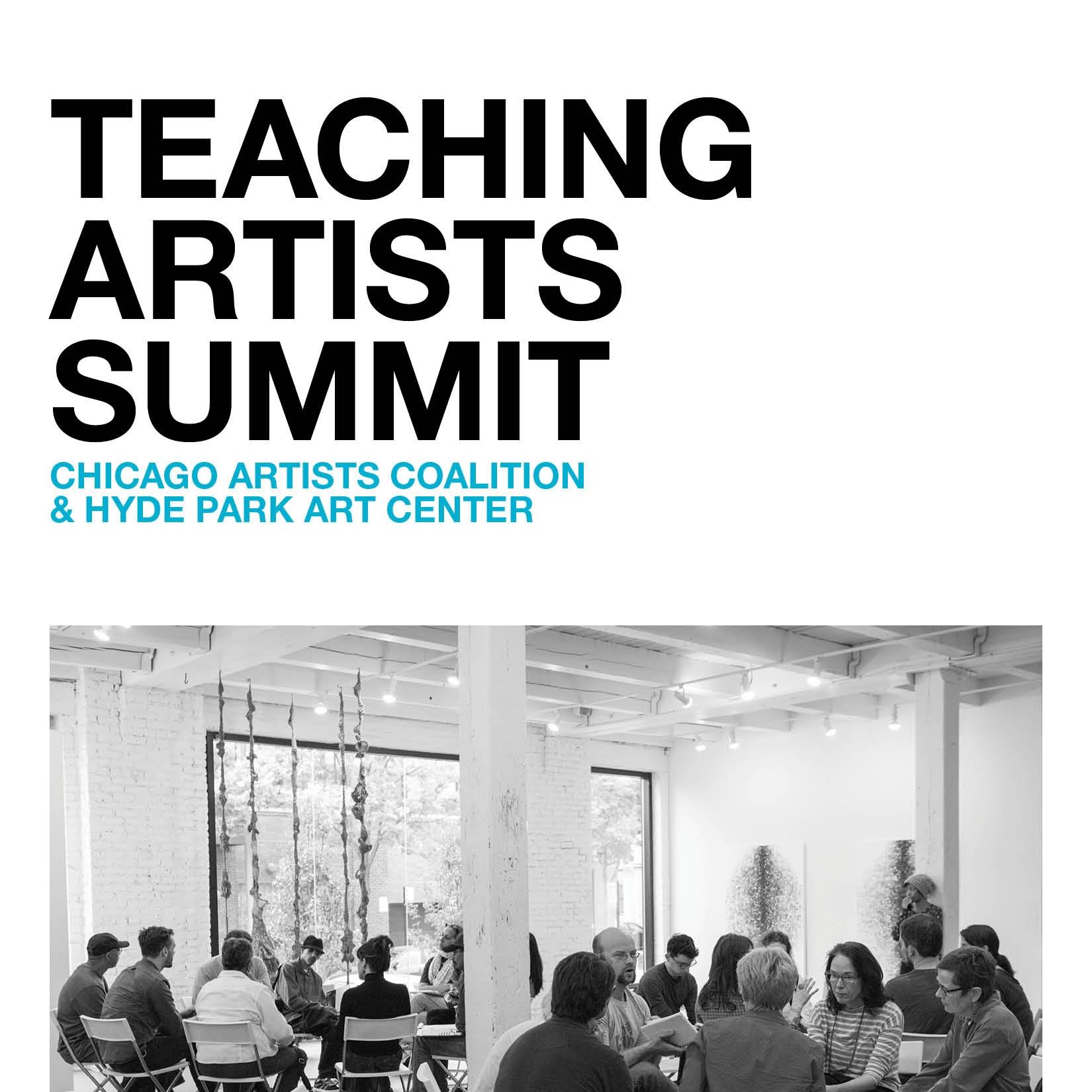 Teaching Artists Summit Brochure