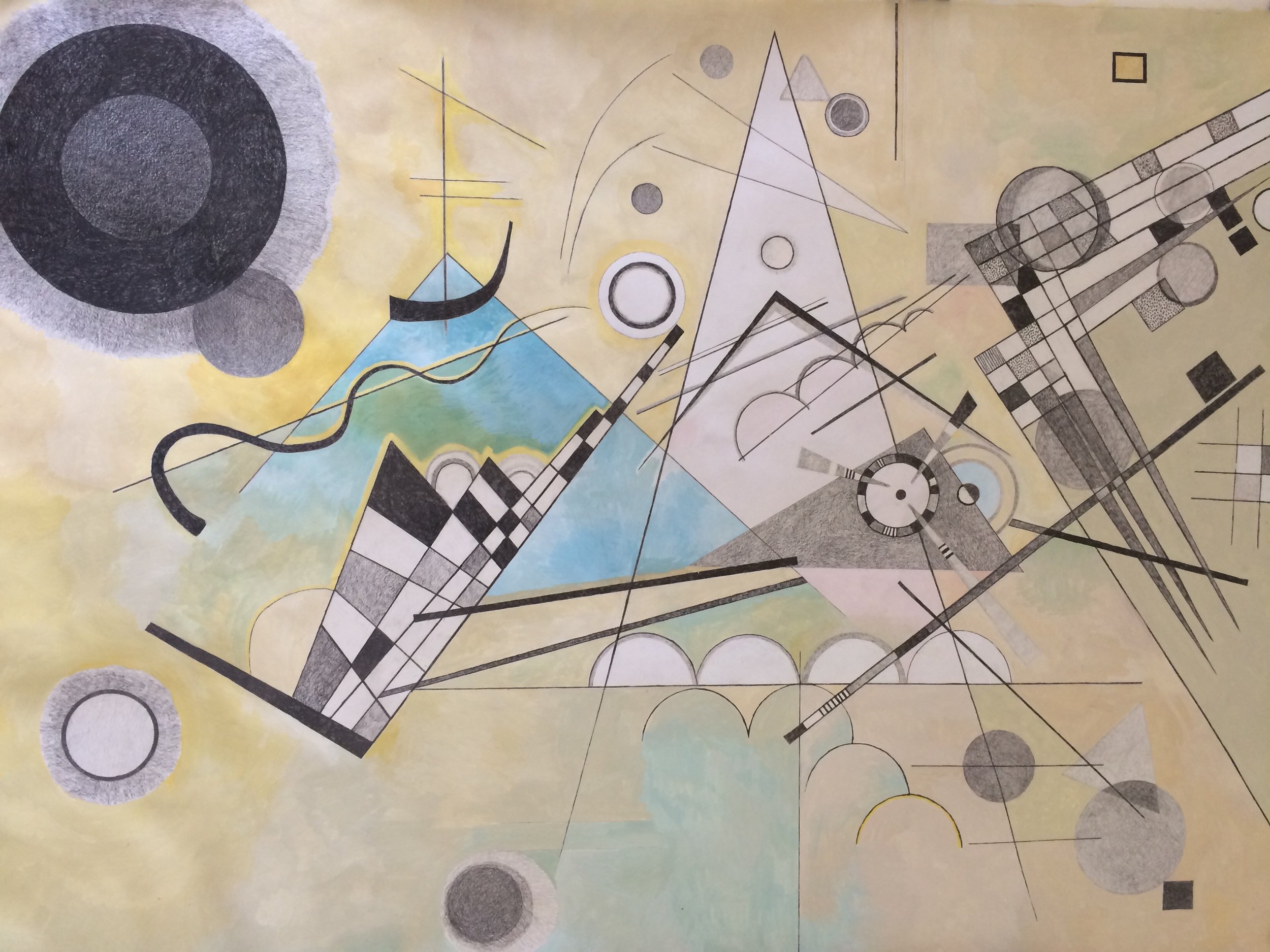 Deconstructing Kandinsky (Composition VII)